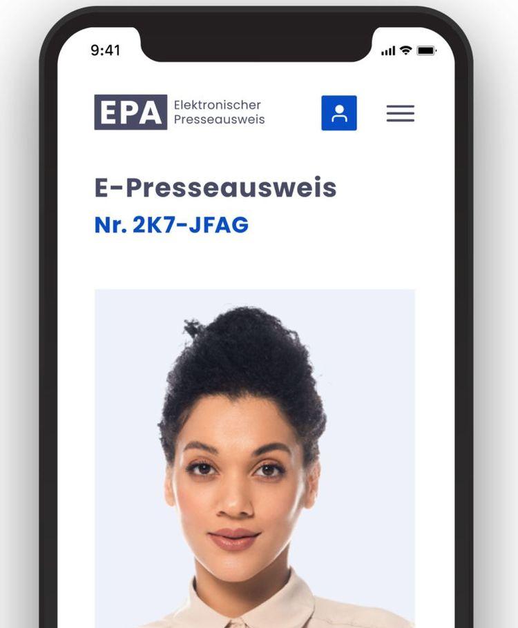 Elektronischer Presseausweis