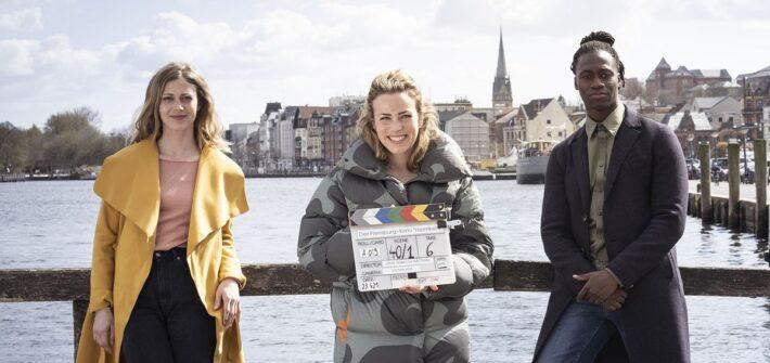 """Der neue """"Flensburg-Krimi"""" mit Katharina Schlothauer und Eugene Boateng"""