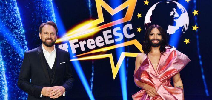 """Conchita Wurst und Steven Gätjen moderieren den """"Free European Song Contest"""""""