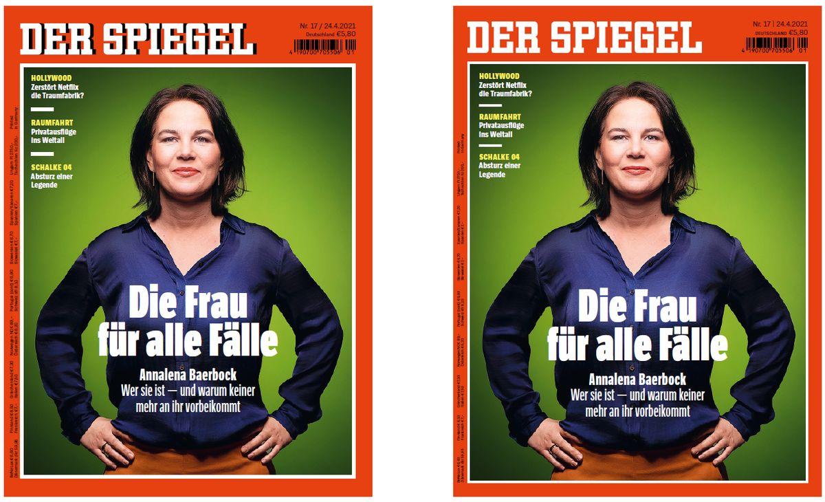 """Links alt, rechts neu: """"Der Spiegel"""" erscheint mit neuer Optik"""