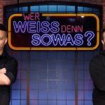 """Tom Wlaschiha und Ken Duken bei """"Wer weiß denn sowas?"""""""