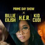 Amazon: Prime Day Show mit Billie Eilish, H.E.R. und Kid Cudi