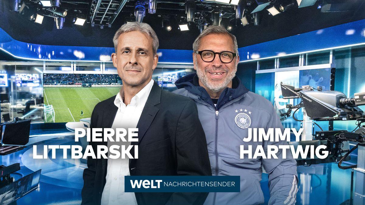 """Pierre Littbarski und Jimmy Hartwig: """"Welt"""" gewinnt neue Experten für die Fußball-EM"""