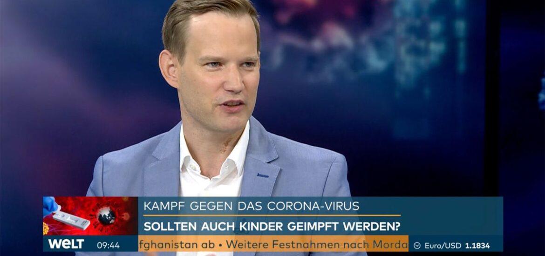 Hendrik Streeck wird wissenschaftlicher TV-Experte