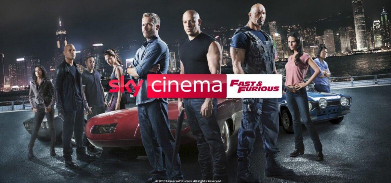 """Acht """"Fast & Furious""""-Filme rund um die Uhr auf Sky"""