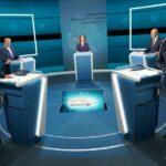 So lief das Wahl-Triell bei RTL und ntv