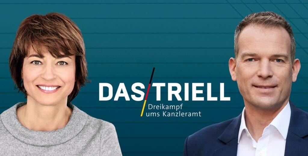 """Der """"Triell""""-Abend zur Wahl 2021 im ZDF"""