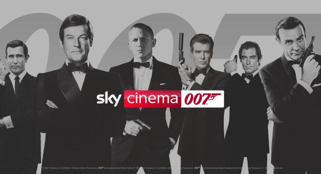 James Bond - alle Filme rund um die Uhr auf Sky