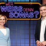 """News im Quiz: Caren Miosga und Ingo Zamperoni bei """"Wer weiß denn sowas?"""""""