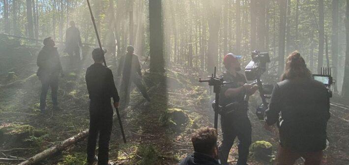 """Die Dreharbeiten zur Serie """"Höllgrund"""""""